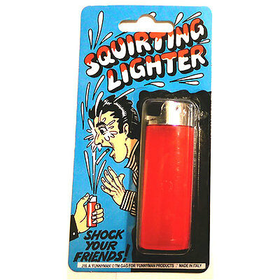 Squirting Lighter Joke Prank • 1.95£