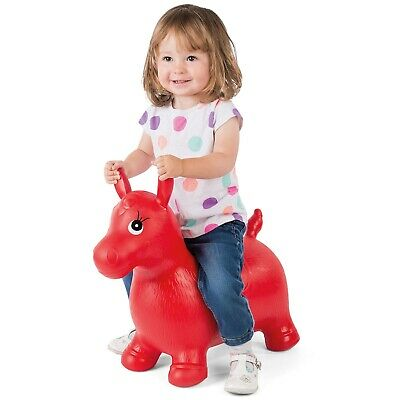 Kids' Bouncy Horse Hopper Inflatable Bouncer Toy Bouncing Animal Ride-On Toys • 14.99£