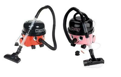 Henry Hetty Vacuum Cleaner Vacuum Hoover Casdon + Accessories Kids Role Play Toy • 25.40£