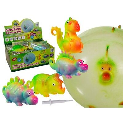 Dinosaur Balloon Ball Boys Kids Bounce Ball Toy Christmas Stocking Filler Gift • 3.29£