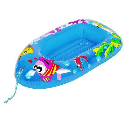 Sea Life Inflatable Pool Water Floating Boat Children Beach Lounger Jilong Kids  • 7.49£
