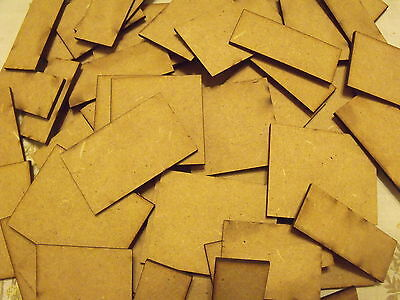 Square Bases Warhammer 40k, Wargames, Table Top Games .MDF Wood, Warmachine KOW • 1.25£