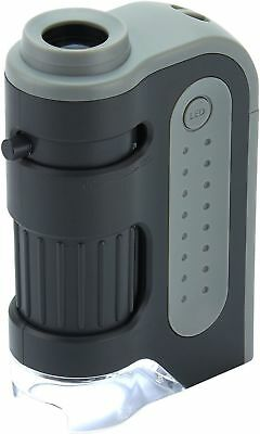 Carson MicroBrite Plus 60-120x LED Lighted Pocket Microscope #MM-300 (UK Stock) • 16.95£