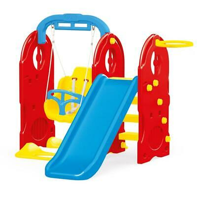 Dolu 4 In 1 Garden Kids Playground Outdoor Swing And Slide Set 18 Months + • 129.99£