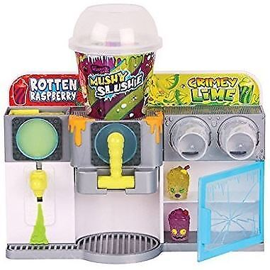 New Grossery Gang Mushy Slushie Machine Playset Exclusive Official Toy Figures • 13.99£