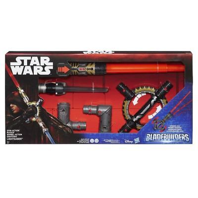 Star Wars Blade Builders Spin Action Lightsabre One Size Hasbro • 21.99£
