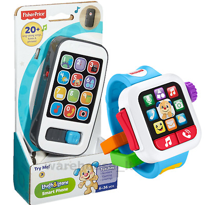 Fisher Price Smart Phone Tablet Remote Baby Toy Toddler Mobile Phone Educational • 12.74£