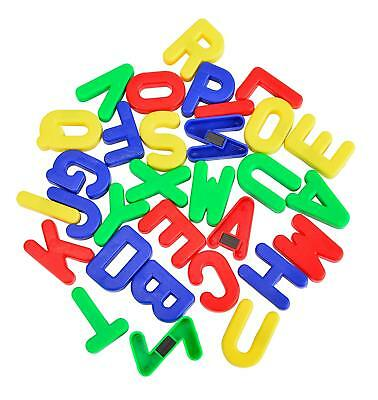 MAGNETIC Alphabet CAPITAL Letters Fridge Magnets Toy Kids Learning Teaching A-Z • 4.99£