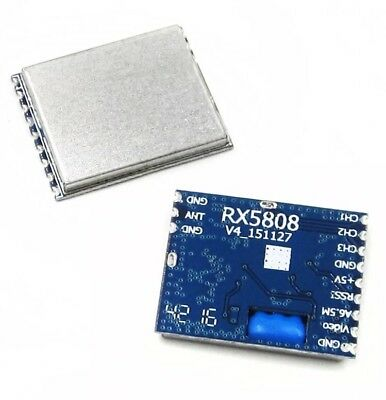 RX5808 FPV 5.8Ghz Wireless RC Audio Video Receiving Module V4 For Boscam 3.5V-5V • 16.99£