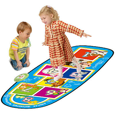 Kids Electronic Animal Hopscotch Musical Sound Play Mat Fun Educational Toy Gift • 15.99£
