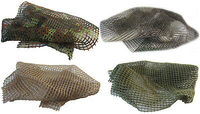 Model Accessories Camouflage Net For 1/16 RC Tank Or Diorama 4 Colours 5 Sizes • 13.99£