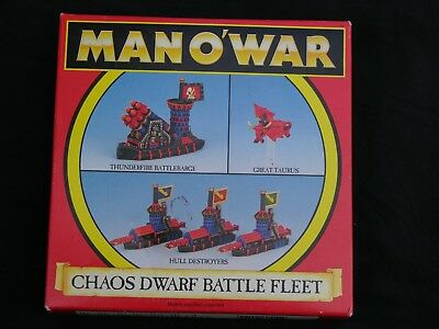 Games Workshop Man O War, Chaos Dwarf Fleet Multi-listing • 40£