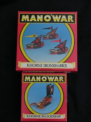 Games Workshop Man O War, Khorne Fleet Multi-listing • 40£
