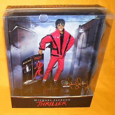 2010 Playmates Toys / Character Michael Jackson Thriller 10  Doll Figure Boxed • 129.99£