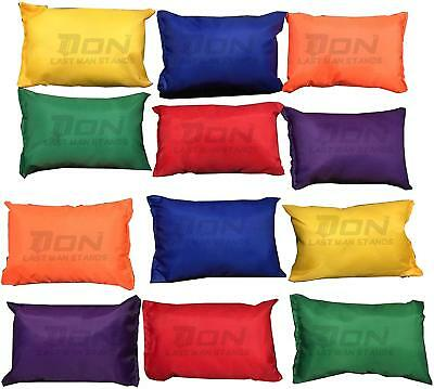Sports Polyester Bean Bags Throwing Catching Play PE Garden Games Juggling Pk 12 • 9.99£