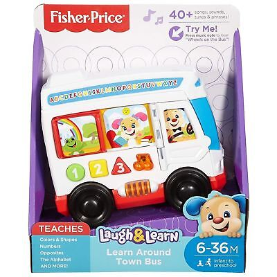 Fisher Price Laugh & Learn Around Town Bus • 15.99£