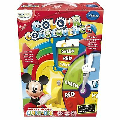 Mickey Mouse Clubhouse Colour Consequence Fun Kids Game • 4.99£