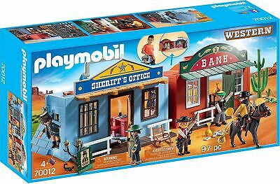 Playmobil 70012 Take Along Western City Toy • 39.99£