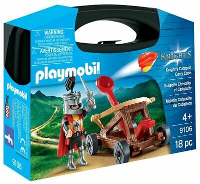 Playmobil Knights 9106 Catapult Carry Case • 9.99£