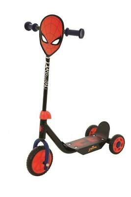 2019 Spiderman Deluxe Kids Three Wheel Push Kick Tri Scooter Black & Red M004008 • 20.49£