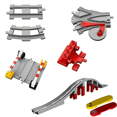 LEGO DUPLO Train Track - Various Items (Pick Your Own) • 2£