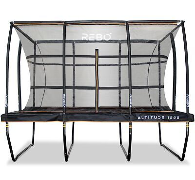 Rebo Altitude Rectangle Trampoline And Safety Enclosure • 879.95£