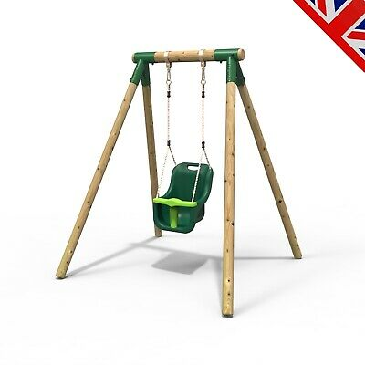 Rebo Junior Range Wooden Garden Swing Set - Junior Pluto • 144.95£