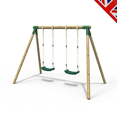 Rebo Junior Range Wooden Garden Swing Set - Junior Venus • 159.95£