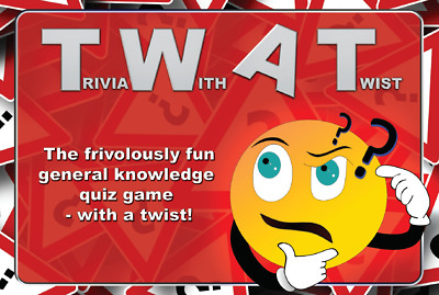 TWAT Game - Trivia With A Twist - Funny Adult Trivia Quiz Game - Joke Gift • 4.99£
