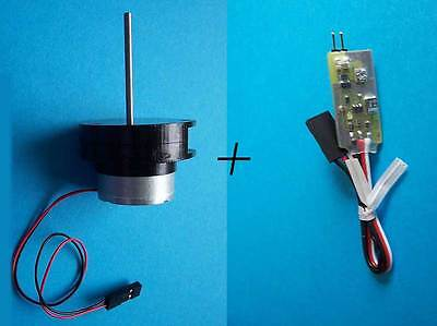 Radio Controlled RADAR Controller And Motor Kit For Model Ship/Boat/Yacht • 21.50£