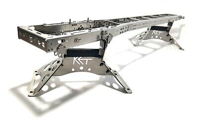 720mm Chassis Frame 12x6 12x4 8x4 ULTRA LONG For Tamiya 1/14 Truck STEEL!!! • 200£