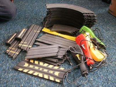 Micro Scalextric Track And Controllers • 10£