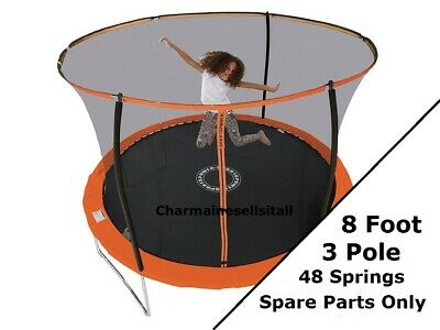 NEW PARTS For Sportspower 8 Ft Trampoline (3-pole) - Orange And Black • 22.99£
