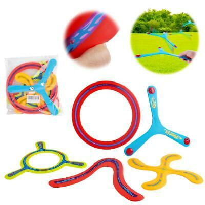 DeAO 5 Pieces All Style Boomerang Toy For Young Throwers - Assorted Colours • 14.99£