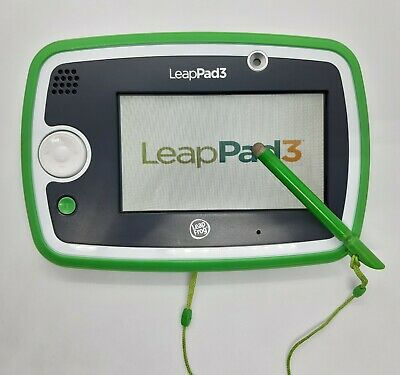 LeapFrog LeapPad 3 Green Learning Tablet Games Activities Camera Educational Toy • 27.99£