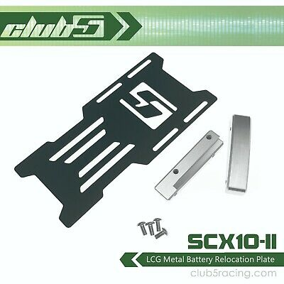 LCG Metal Battery Relocation Plate For Axial SCX10 II • 15.73£
