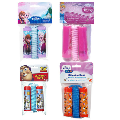 Kids Skipping Rope Toy Story Disney Princess Frozen Outdoor Game Boys Girls Toy • 4.99£