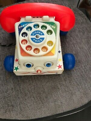 Vintage Fisher Price Chatter Telephone Toy • 5£