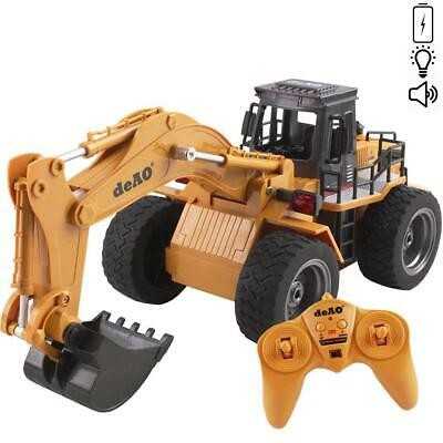 DeAO Remote Control Dumper Truck With Lights & Sounds 2.4Ghz Frequency Control • 28.49£