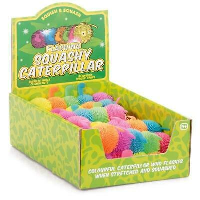 Tobar Flashing Squashy Caterpillar Stretchy Light Up Toy • 5.46£