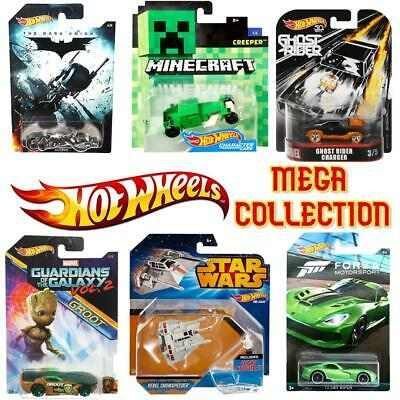 Hot Wheels Cars Mega Collection Of 1:64 RARE Vehicles - Choose Your Favourites! • 7.99£