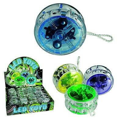Kids Light Up Yoyo Auto Return Clutch Childrens Trick Yoyo Stocking Filler UK • 5.74£