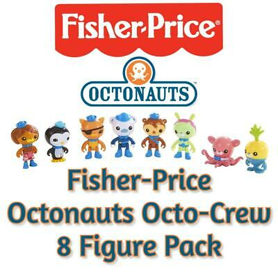 Fisher-Price Octonauts Octo-Crew 8 Figure Pack - Authentic, NEW And BOXED • 14.99£