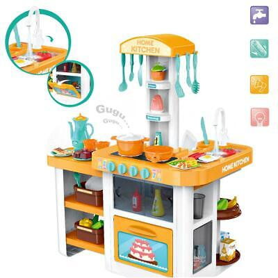 DeAO Little Chef Kitchen Playset With Light, Sound, Water Features & Accessories • 25.99£