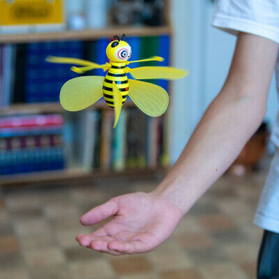 Hand Controlled Flying Bee Infrared Sensor Mini Drone Fun Christmas Toy Gift • 17.95£