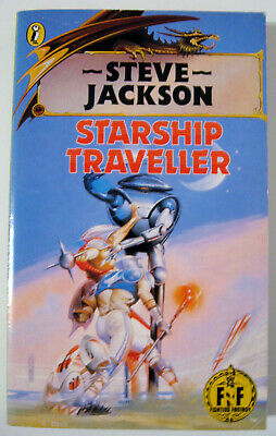 Starship Traveller Fighting Fantasy FF 4 Game Book Black Dragon Cover • 19.99£