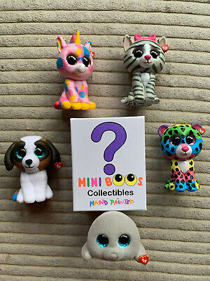 TY MINI BOOS Collectibles Series 1 Hand Painted Figure Choose YOUR OWN  • 6.75£