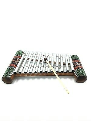 Stunning Hand Painted Metal Xylophone From Bali (Musical, Music, Toy, Instrument • 14.99£