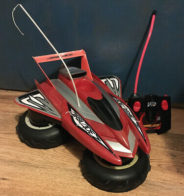 Rare Tyco LARGE RC Radio Control AIRBLADE HIGH PERFORMANCE HOVERCRAFT • 39.99£