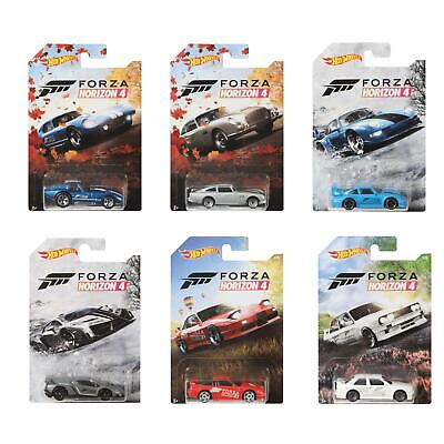 Hot Wheels 1:64 Forza Horizon 4 Vehicle Collection - Choose Your Favourites! • 4.99£